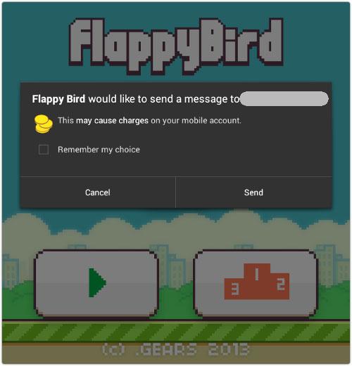 Fake Flappy Bird