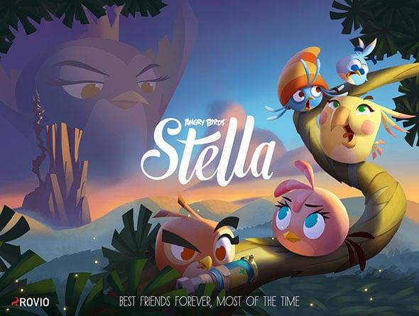 Rovio Angry Birds Stella