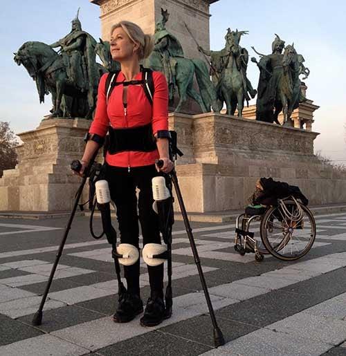 Amanda Boxel 3D Systems exoskeleton
