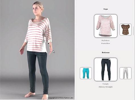 3D Clothes Simulator
