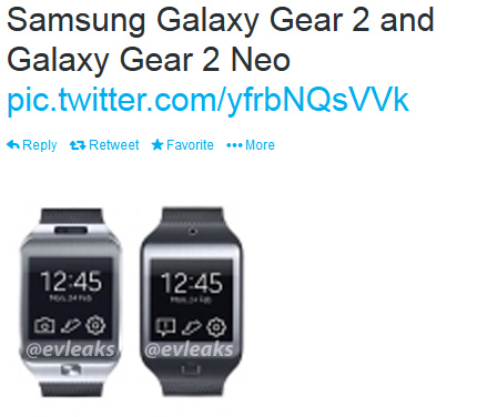 Samsung Galaxy Gear 2 and Galaxy Neo