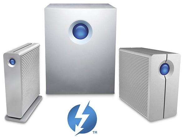 LaCie Thunderbolt 5TB