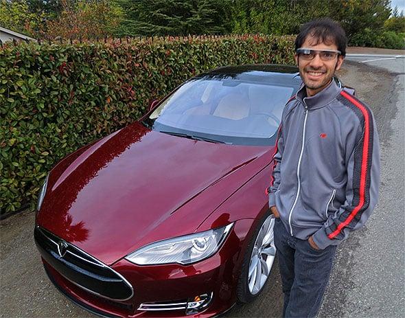 Google Glass Car