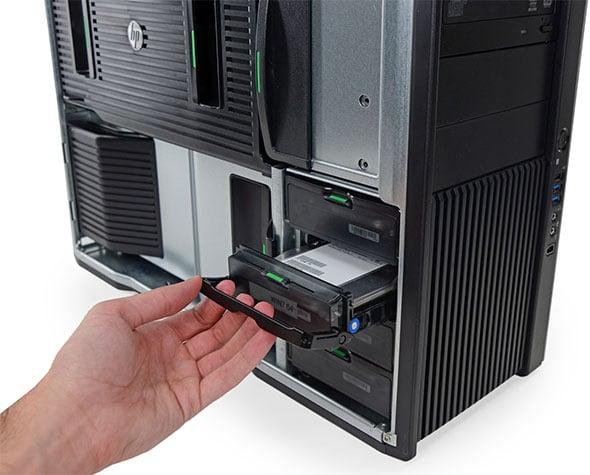 HP Z820 Drive Bays