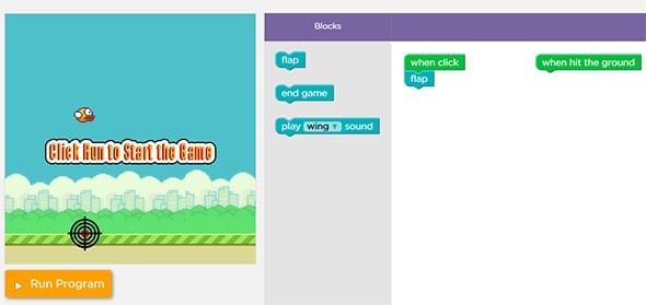 Code.org Flappy Birds