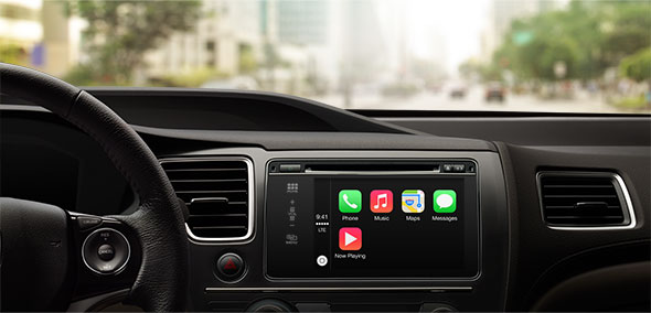 CarPlay Home screen