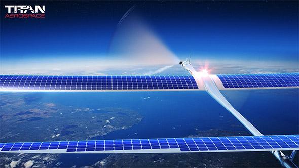 Titan Aerospace Solara UAV