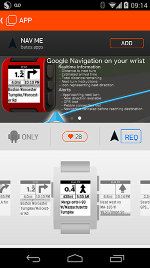 Pebble Android App Store