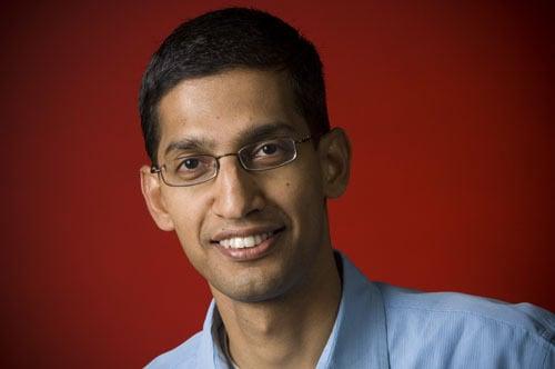 Google Senior VP Sundar Pichai