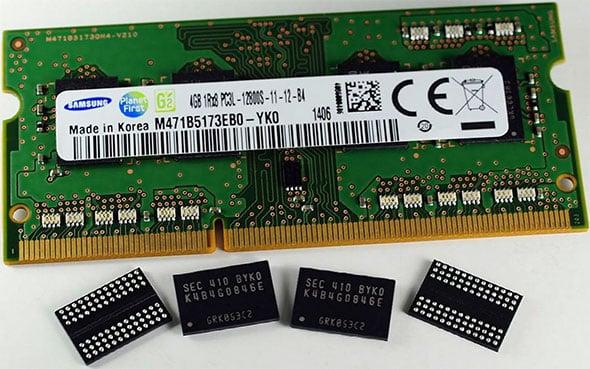 Samsung 4Gb DDR3 Memory