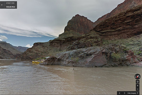 Colorado River in Street View