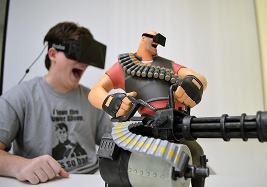 Oculus Rift Valve Team Fortress 2