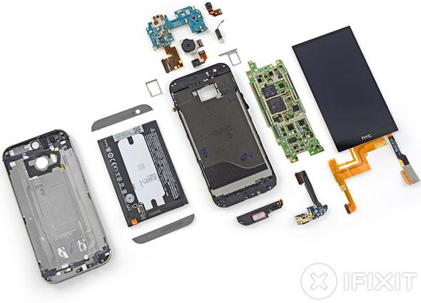 HTC One M8 Teardown