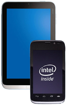 Intel mobile devices