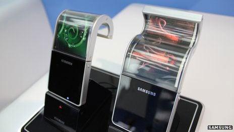 Samsuing flexible displays