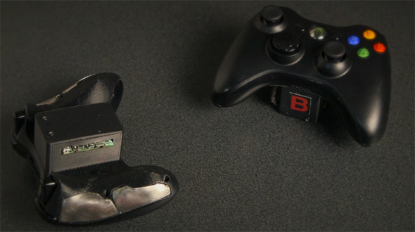 Modded Xbox 360 controllers Stanford