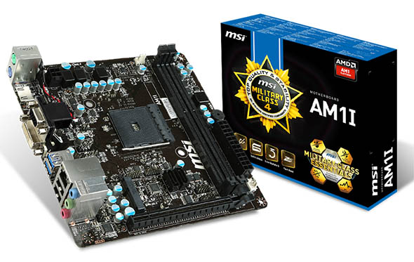 MSI AM1 motherboard