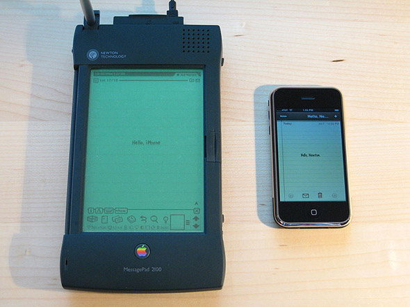 Newton iPhone