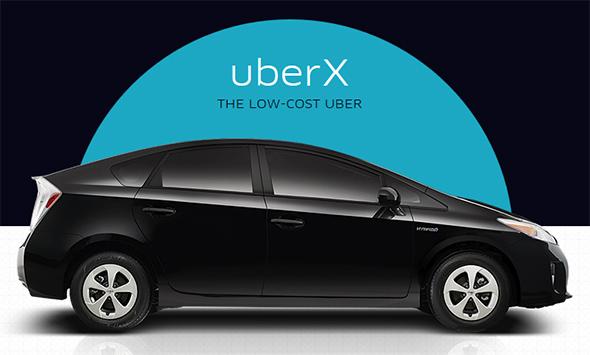 uberX car