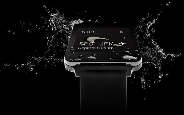 LG G Watch Water Resistant