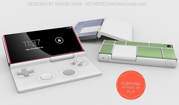 Project Ara Flippypad