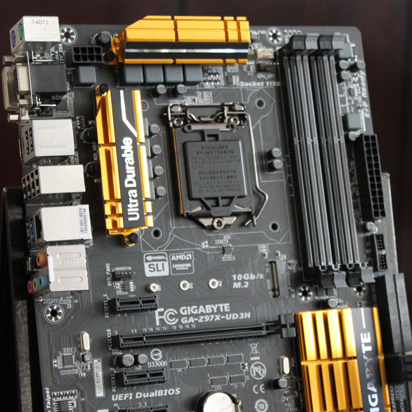Gigabyte's motherboard bread and butter, the Ultra Durable series enjoys an update.