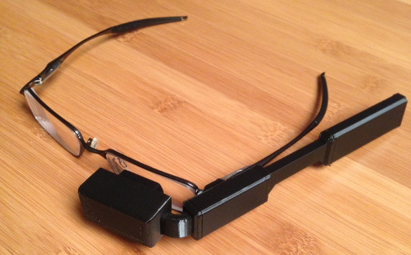 Adafruit Raspberry Pi Google Glass