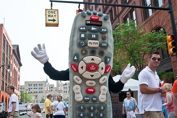Comcast Remote
