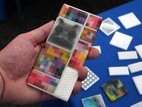 Project Ara 3d-printed modules