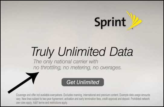 Sprint Throttling