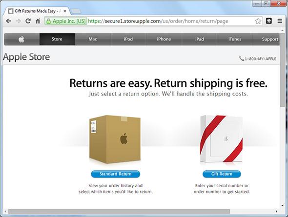 Apple Returns
