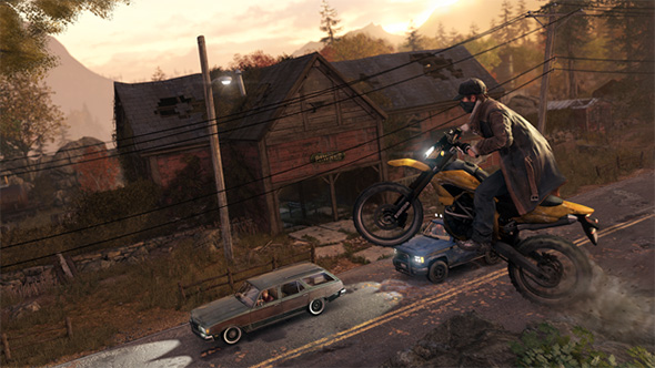 Watch Dogs Motorcycle