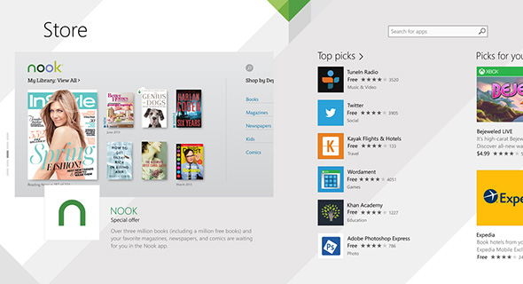 windows store old