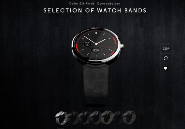 Moto 360 Bands