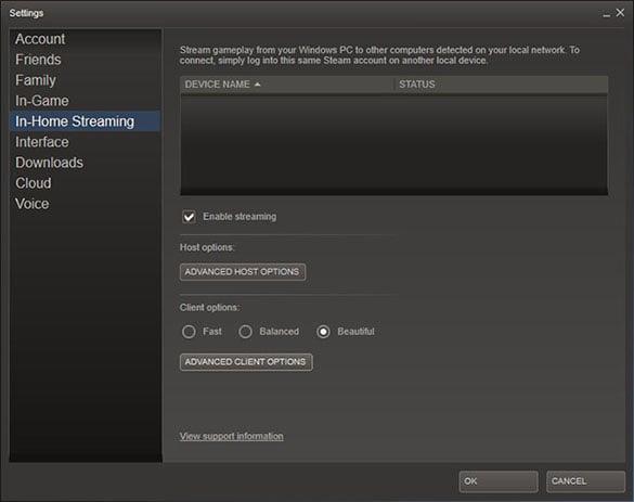 Linux Windows games 8 beta
