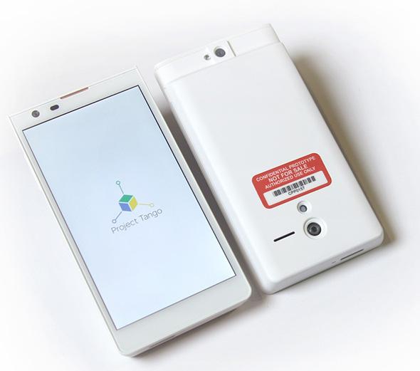 Project Tango smartphone