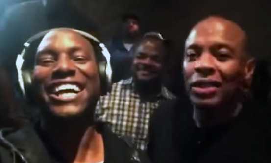 Dr. Dre and Tyrese