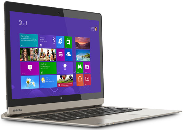 Toshiba Satellite Click 2 Pro, which has a detachable display and a hard drive hidden in the keyboard.