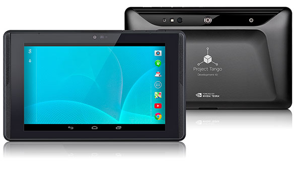 NVIDIA, Google Project Tango Development Tablet