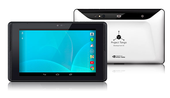 Google Unveils Project Tango 3D Mapping Tablet DevKit ...