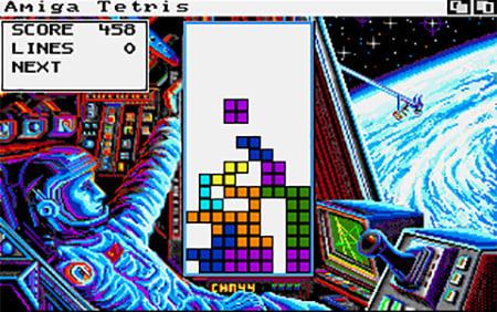 Amiga Tetris