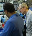 Apple CEO Tim Cook Watches As Factory Workers Build Mac Pros With Windows Workstations