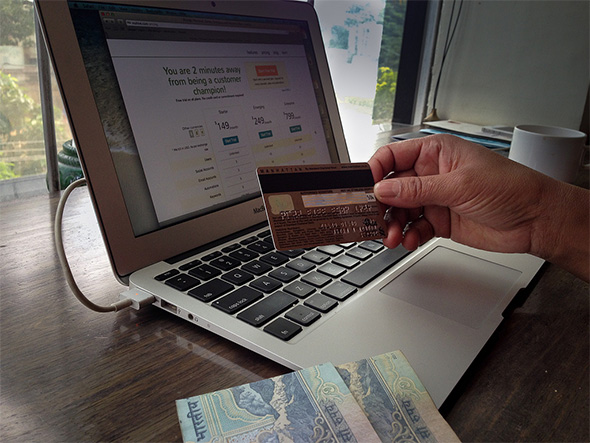 Credit Card on Mac