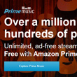 Amazon Prime Music Stream Service Is Go, 1 Million Songs Strong