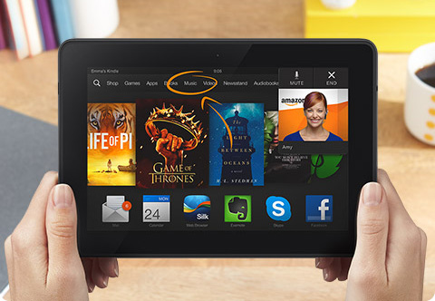 Kindle Fire HDX Mayda