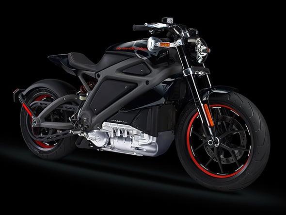 Harley-Davidson Electric Motorocycle Side