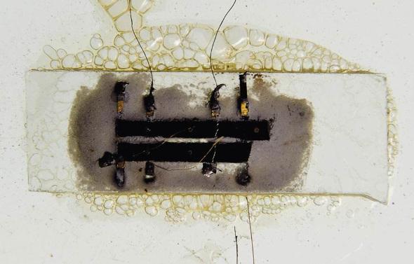 Kilby microchip