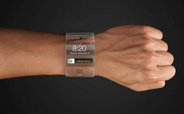 Apple iWatch render