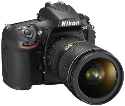 Nikon D810 Angled