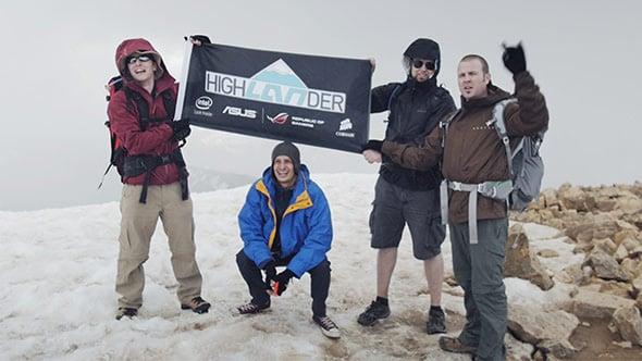 ASUS on Mt. Elbert